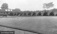 Wimbledon, Park, Bowling Green c.1955