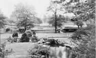 Wimbledon, Park, Rock Gardens c.1955
