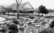 Wimbledon, Park, Tea Pavilion c.1955