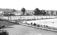 Wimbledon, The Tennis Courts, The Park c.1955