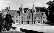 Wimborne, the Grammar School c1955