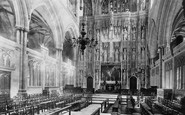 Winchester, Cathedral, Choir East 1893