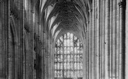 Winchester, Cathedral Nave West 1886