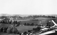 Winchester, From St Catherines Hill 1899
