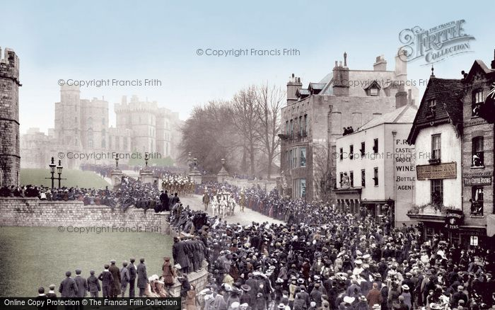 Photo of Photo of Windsor, Castle Hill 1906