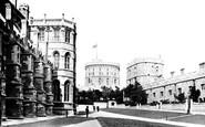 Windsor, Castle, Lower Ward 1895