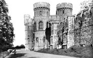 Windsor, Castle, North Terrace And Norman Tower 1895