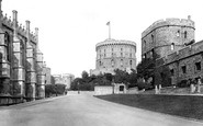 Windsor, Castle, Round Tower 1895