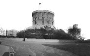 Windsor, Castle, Round Tower c.1890