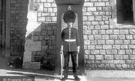 Windsor, Castle, the Coldstream Guard c1960