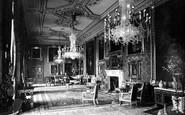 Windsor, Castle, The Vandyke Room 1923