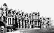 Windsor, Lower Ward, St George's Chapel 1895