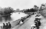 Windsor, Riverside Gardens 1906