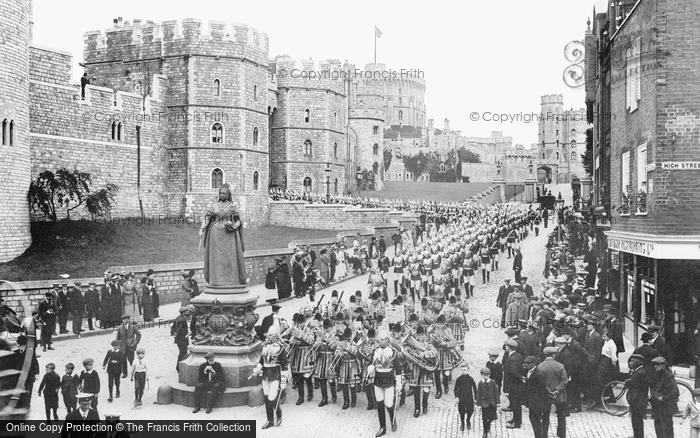 Windsor, The Castle 1914