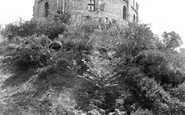 Windsor, the Castle, Round Tower and Moat Garden 1914