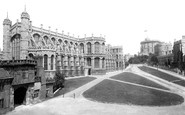 Windsor, The Castle, St George's Chapel 1895