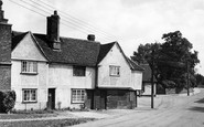 Photo of Witham, the Old Forge, Chipping Hill c1950