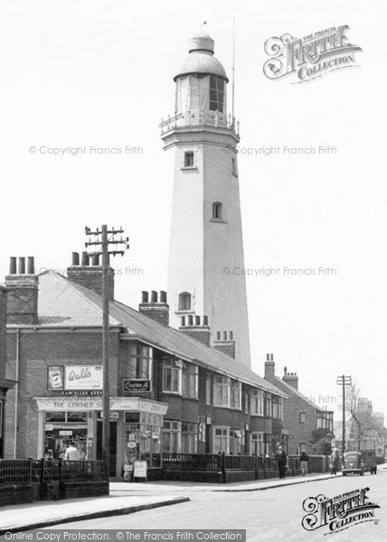 Withernsea, The Lighthouse 1955