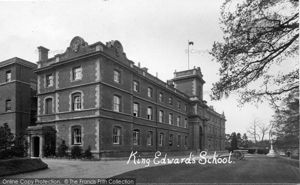 Witley, King Edward's School 1931