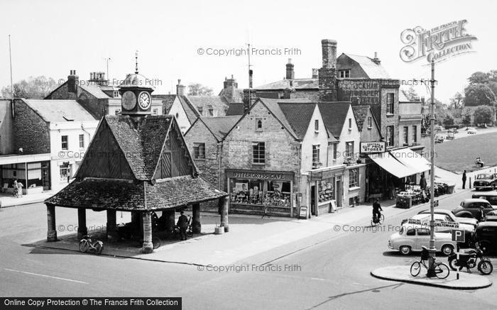 Witney, Butter Cross c.1960