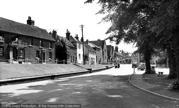 Wokingham, The Terrace c.1955