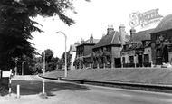 Wokingham, the Terrace c1955