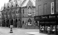 Wokingham, the Town Hall c1955