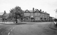 Wollaston, the Square and Nag's Head Hotel c1955