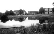 Woodford Bridge, the Pond c1965