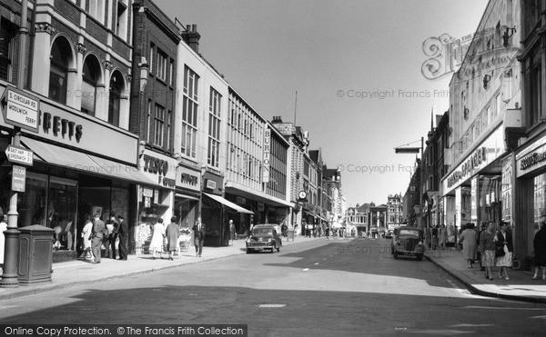 Woolwich, Powis Street 1962
