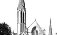 Wrexham, Brynyffynnon Wesleyan Church 1895