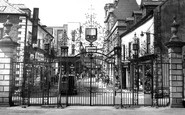 Wrexham, Church Gates c.1965
