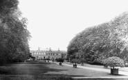 Wrexham, Erddig From The Lake 1895
