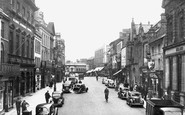Wrexham, High Street c.1955