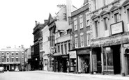 Wrexham, High Street c.1960