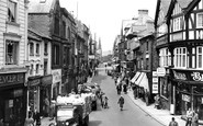Wrexham, Hope Street c.1955
