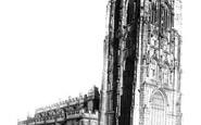 Wrexham, St Giles' Church 1895
