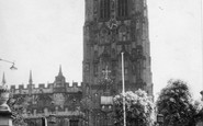 Wrexham, St Giles' Church c.1965