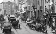 Wrexham, Traffic, High Street 1895