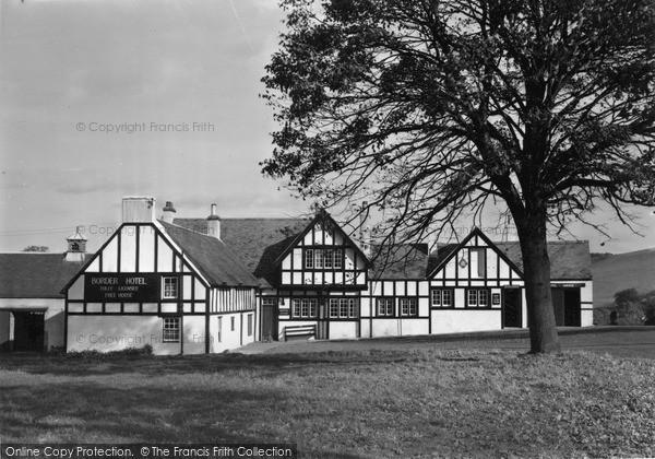 Yetholm, The Border Hotel c.1955