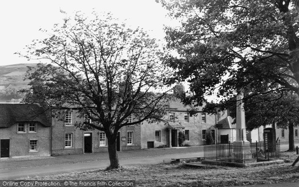 Yetholm, The Village 1955