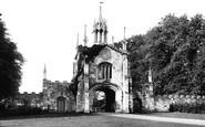 York, Bishopthorpe Palace Gate c.1885
