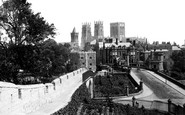 York, From City Walls 1885