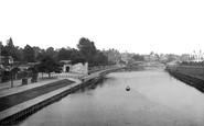 York, Lendal Bridge  1885
