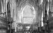 York, Minster, Choir East c.1877