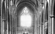 York, Minster, Nave West c.1880