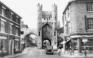 York, Monk Bar c1955