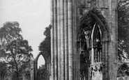 York, St Mary's Abbey, East End c.1880