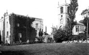 York, St Olave's Church and Marygate c1885