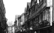 York, Stonegate c.1880